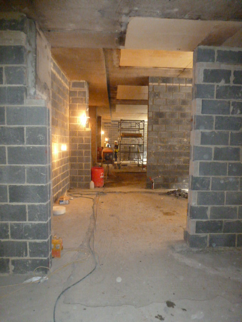 Looking into the repository spaces from the document workroom