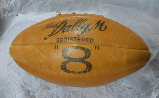 Prescott's match ball 1958