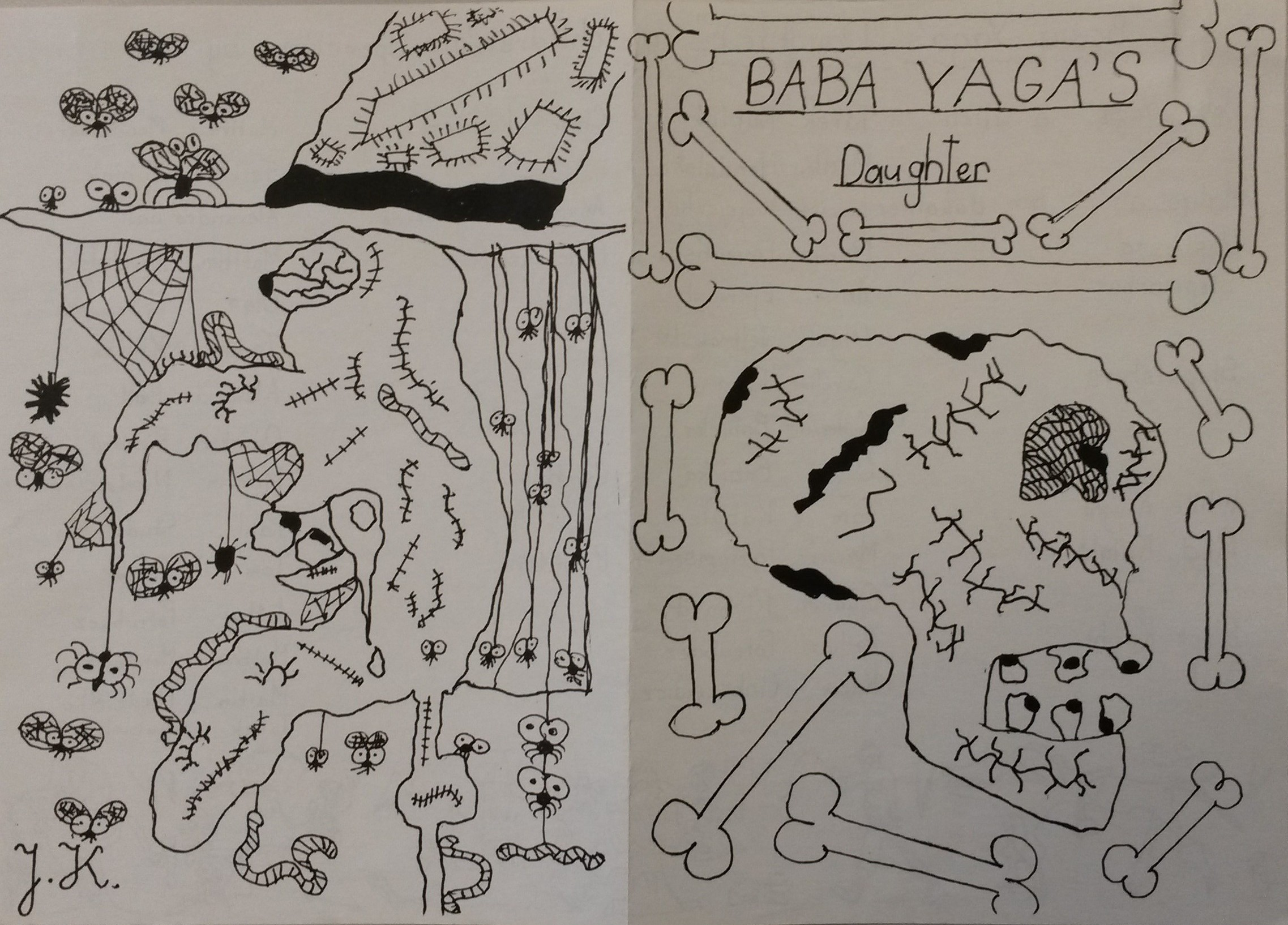 Baba Yaga's daughter by Lydia West