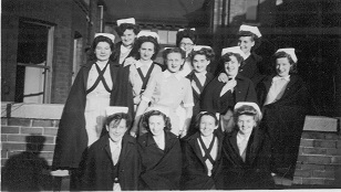 RWD - Midwifery pupils, 1950