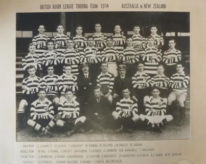 British Rugby League 1914 Touring Team