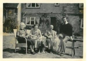 JPW & Rita Mallalieu with Mr & Mrs Arthur Gardiner