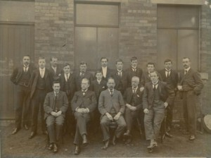 Industry. HOP-MM-1 Hopkinsons staff c1905