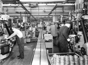 Industry. Holset works, 1950s