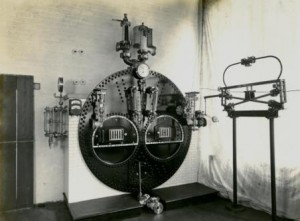 Industry. Hopkinsons Exhibition Boiler Front 18 Aug 1931