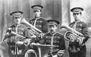 Socialist Brass Band, Huddersfield.