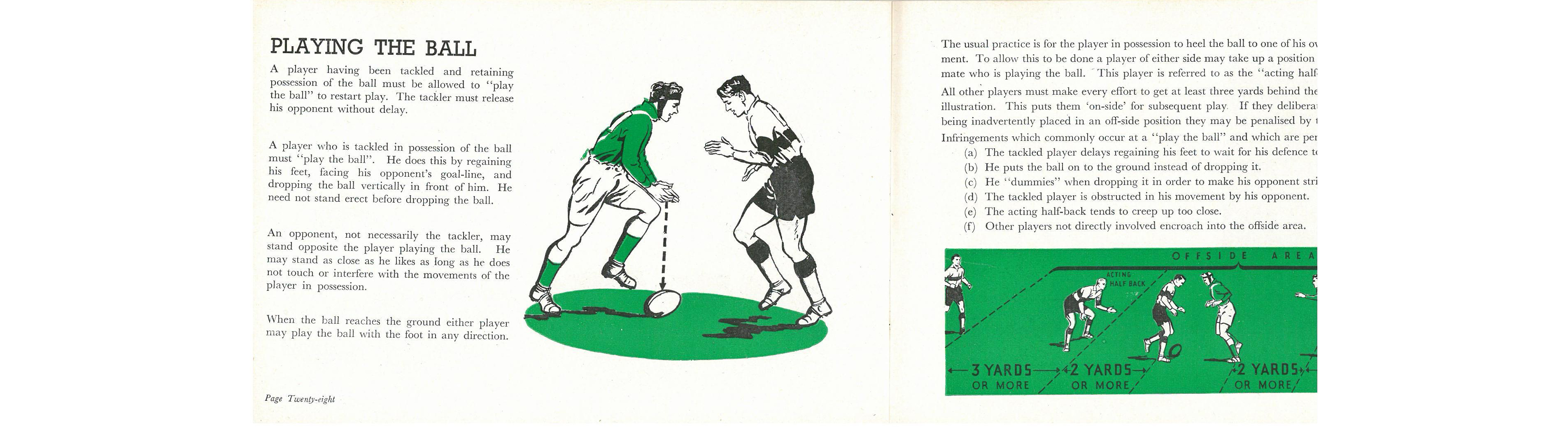Laws of the game illustrated booklet