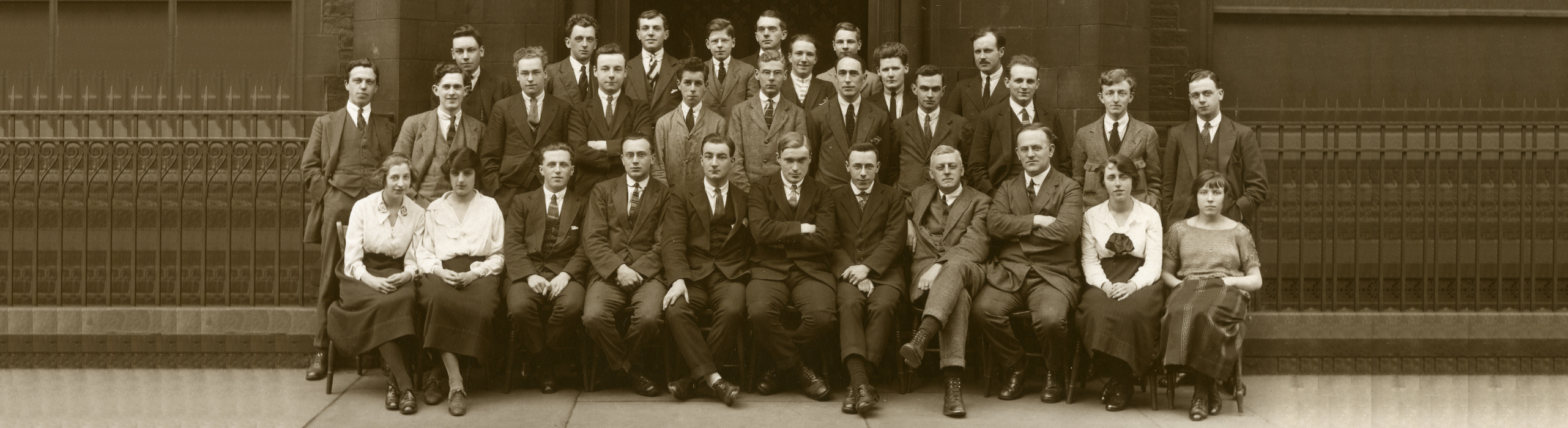 Huddersfield Technical College staff photograph