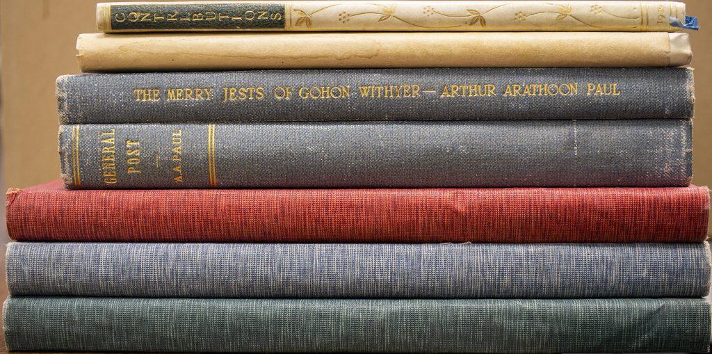 Books written by Arthur Arathoon Paul