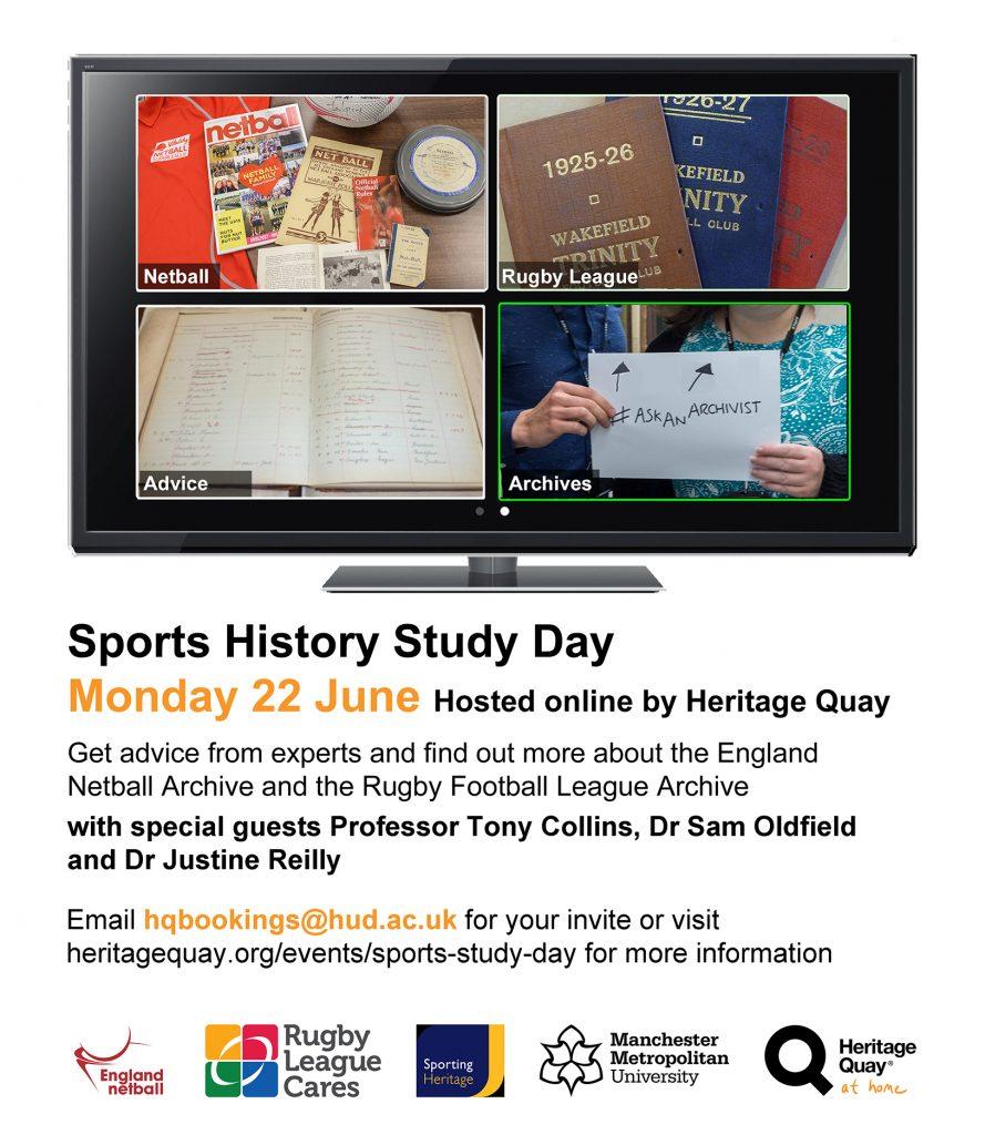 Sports History Day flier